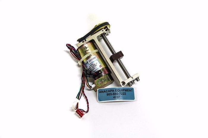 Used Asyst Pittman 9236E466 LO-COG Motor & Gears w/ Belt 9236E466 9700-8861-01 (4237)