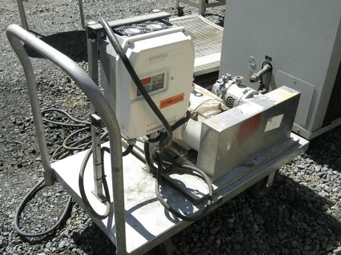 Used 4 in. OAKES CONTINUOUS AUTOMATIC MIXER – SANITARY S/S – JACKETED (#8119)