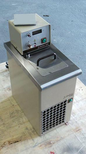 Used JULABO F10-UC Cirulating Refrigerated Water Bath, F10-UC / 230V / 50~60Hz / 1W /