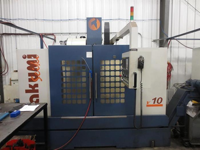 """40""""X, 20""""Y, 22""""Z, TAKUMI, V10A, 2008, CNC VERITCAL MACHINING CENTER"""