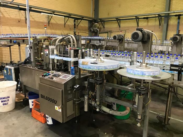 B&H BH-8000U Bottling and Bevereage