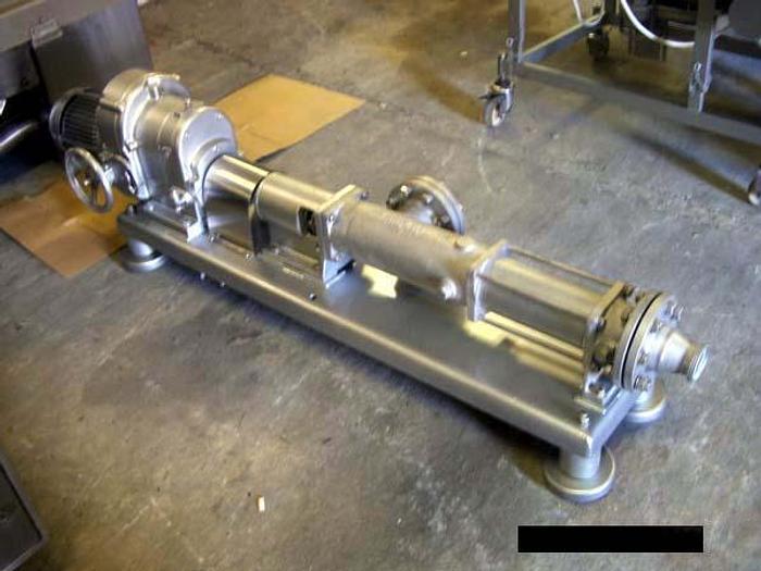 Używane Pompa ślimakowa z regulacją obrotów - produkcji niemieckiej