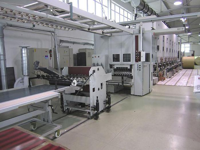 Used Atena with rotary die cutter for cigarettes packaging (2008)