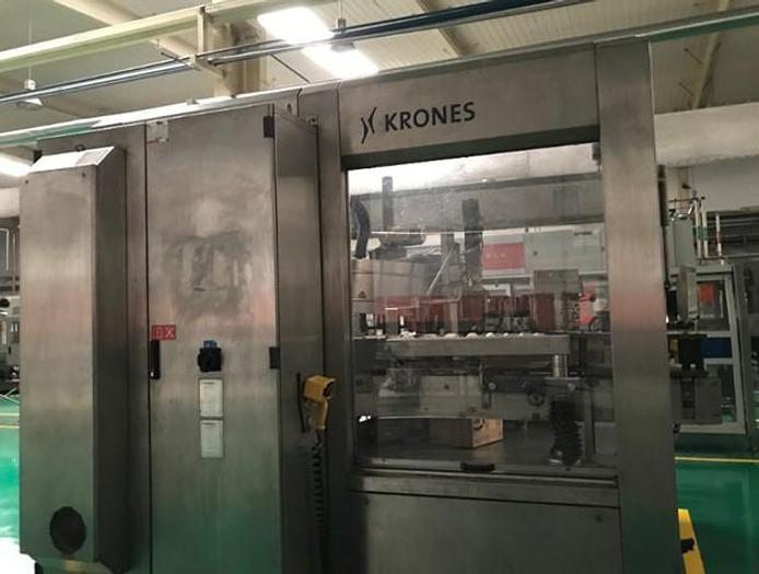 Used 2008 KRONES SIDEL Water bottling line