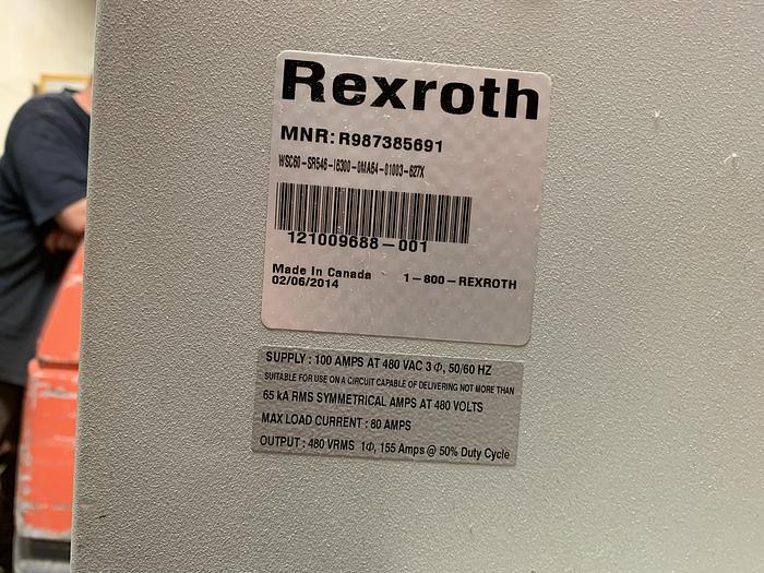 ABB IRB 6640 180/2.55 NEW 2014 WITH ARO SPOT WELDING GUN AND REXROTH WELDING CONTROLLER