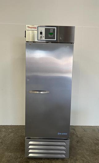 Used Thermo Scientific MR25SS-SAEE-TS GPR Series +1C° Lab Refrigerator 23 Cu, Ft