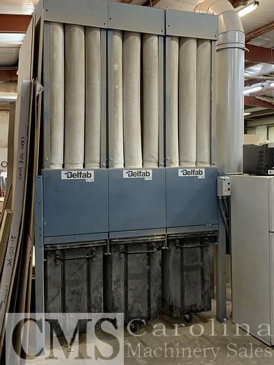 Used 2014 Belfab 15 HP Dust Collector