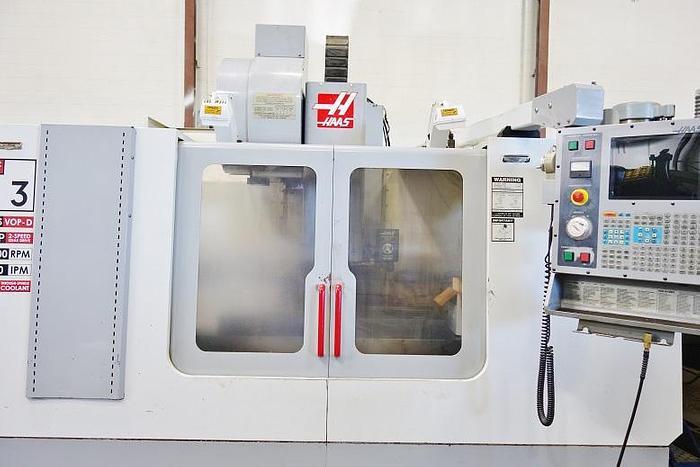2002 Haas VF 3 Thru the Spindle Coolant 10000 RPM 4th Axis Ready VF3 B