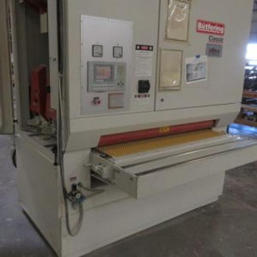 Used Butfering Classic 213 Wide Belt Sander – Reconditioned