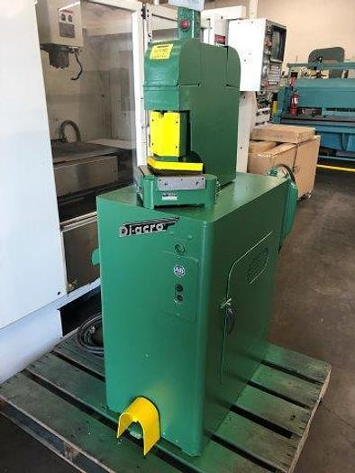 "Used 16ga x 6"" x 6"", DIACRO Mod 1P, Power Notcher, 5 Ton [5311]"