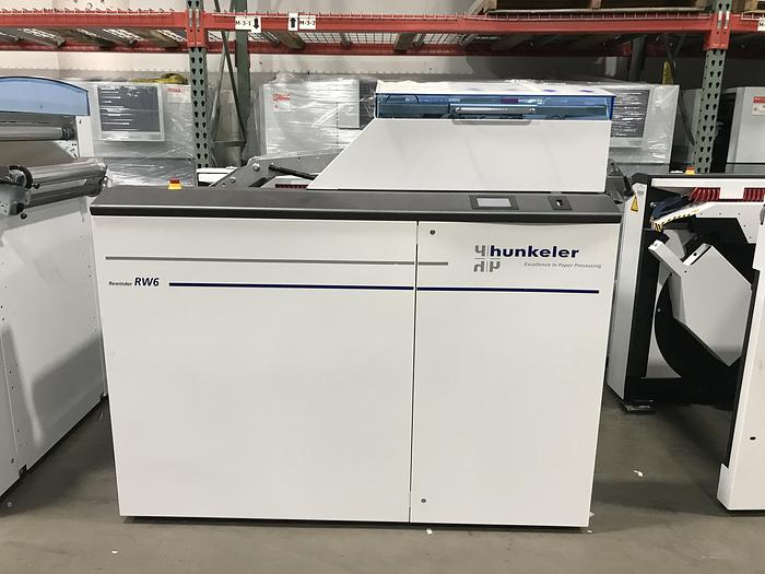"Refurbished 2018 - Hunkeler ROLL to ROLL Solution - UW6-22 Unwinder RW6-22 Rewinder, 22"" Wide High Speed, 3"" Core, 150 m/min"