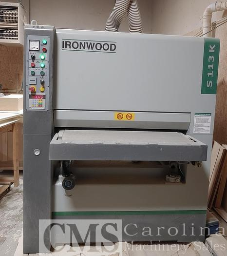 Used 2016 Ironwood S113K Sander
