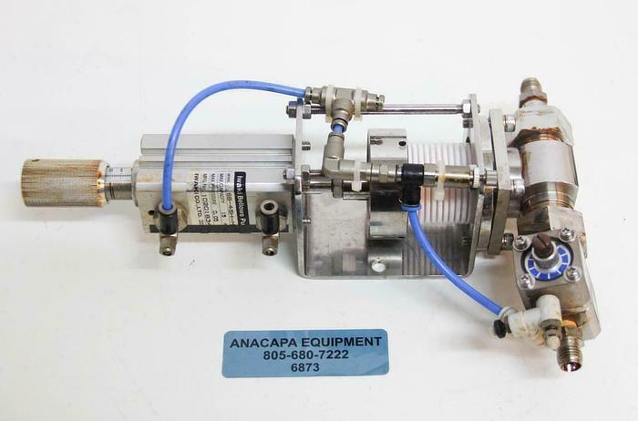 Used Iwaki Pneumatic Bellows Pump SB-4SH-ML for Semiconductor Manufacturing (6873) R