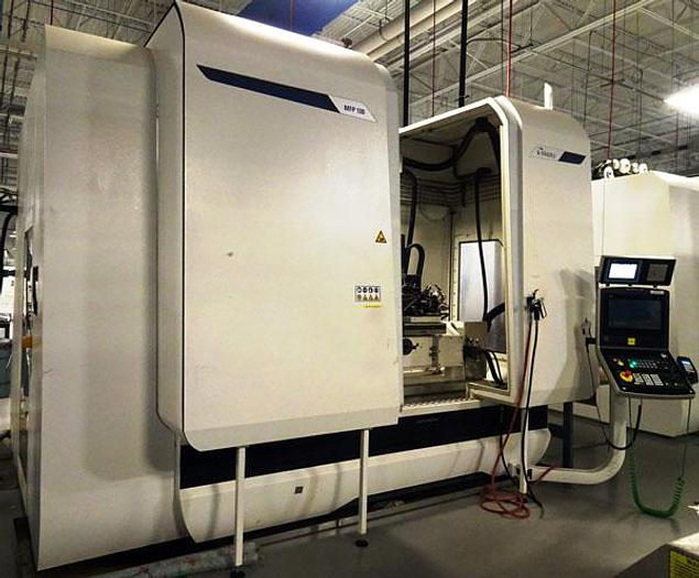 Used 3113, Magerle, MFP-100.75.9, CNC 5 Axis, Creep Feed Grinder, 2018