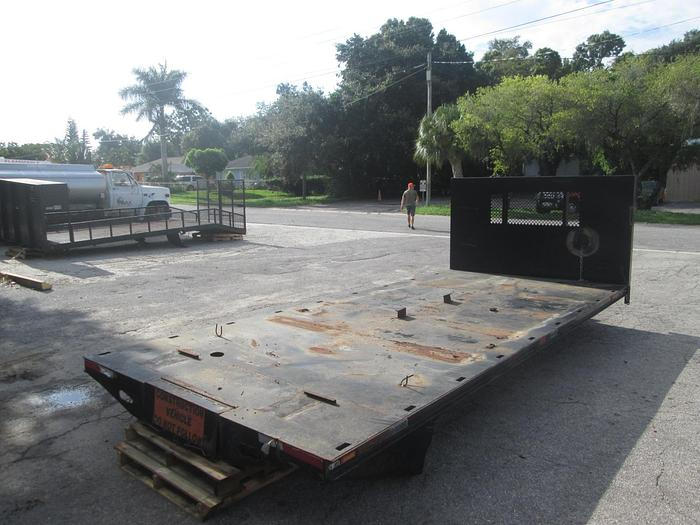 Used 18'x8' Flat Bed Truck Body