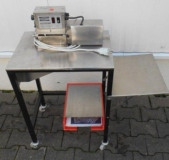 Used I 11987 D - Deblistering Machine MANESTY AUTOSTRIP - Semi-Auto
