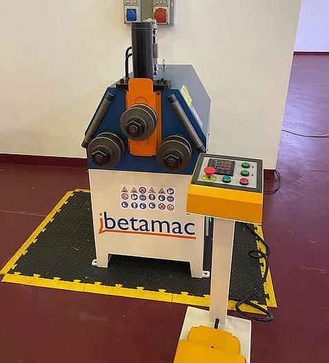 CURVATRICE PER PROFILATI INDUSTRIA 4.0 IBETAMAC 50 H CON PLC SCHNEIDER ELECTRIC