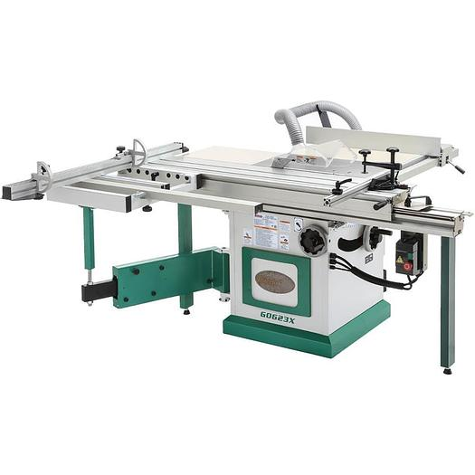 "Grizzly G0623X - 10"" 5 HP 230V Sliding Table Saw"