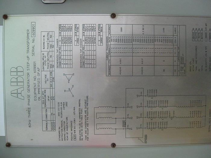 Used 675 MVA Transformer