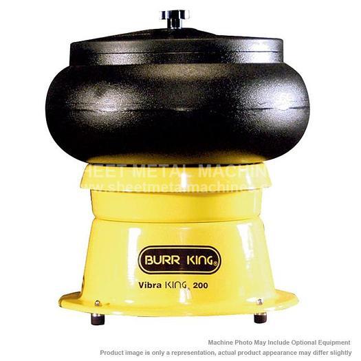 BURR KING 20 quart Vibratory Bowl MODEL 200