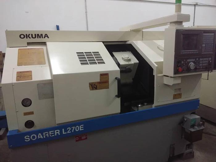 Used 2010 OKUMA L270E CNC LATHE MACHINE