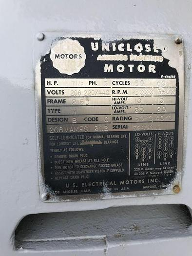 1962 Cleaver Brooks 150 HP 150 PSI Steam Boiler CB-266-150