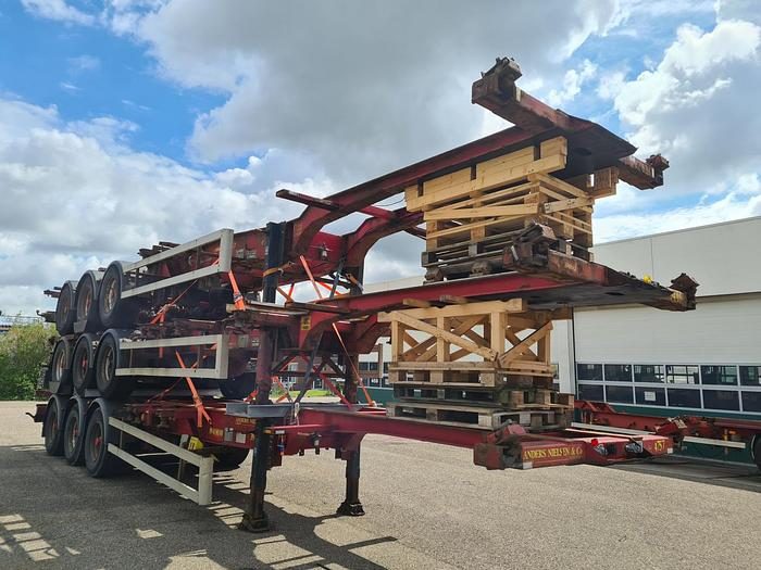 Used 2005 HFR SB24 / 40ft / 30ft / 20ft/ 2x 20ft/ 20ft in the middle / Highcube