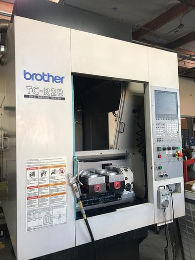 2011 Brother TC-R2B with 4th Axis Rotary Tables