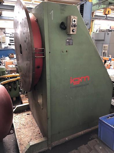 IGM Wendevorrichtung Schweissmanipulator RP 3000 A-So auf VB 6000