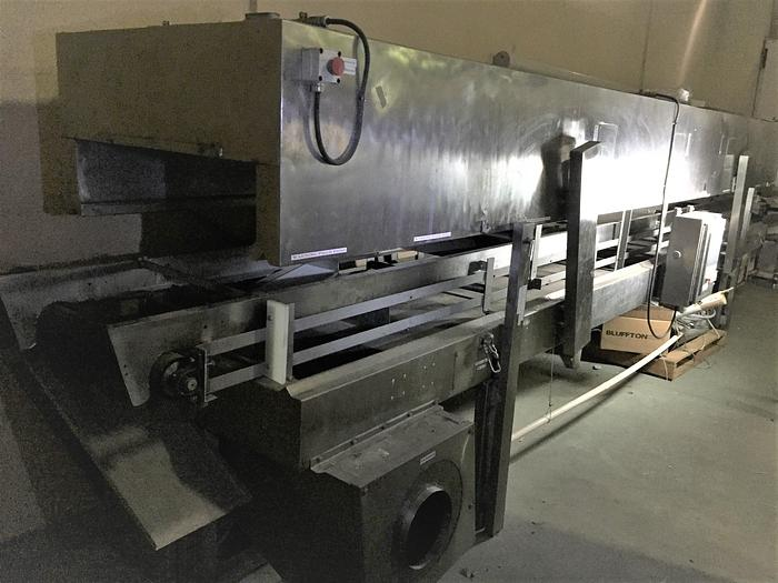 Used AMERICAN MADE Nitrogen Freezer tunnel