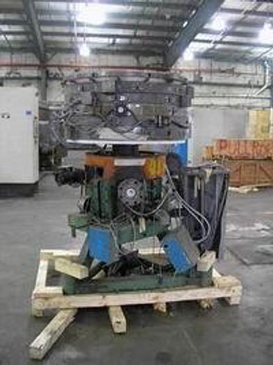 "Used 24"" Brampton 2 Layer Die on cart with rotator"
