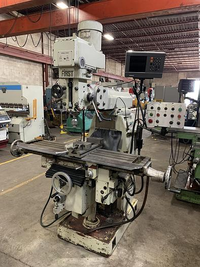 """Used 10"""" X 51"""", FIRST, LC20-VSG, VERTICAL MILLING MACHINE"""
