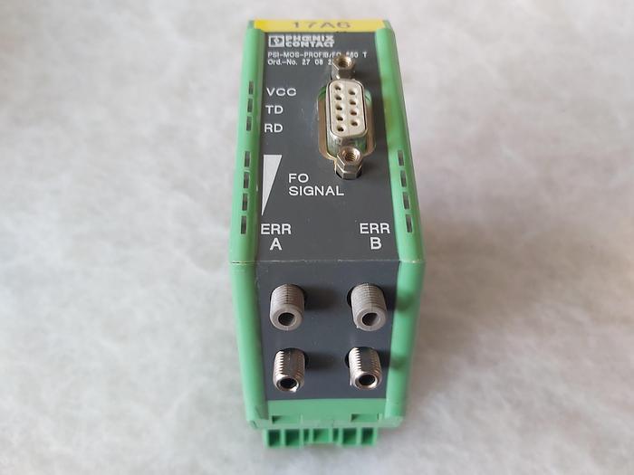 Gebraucht LWL Umsetzer, PSI-MOS-PROFIB/FO 660 T, Phoenix,  gebraucht