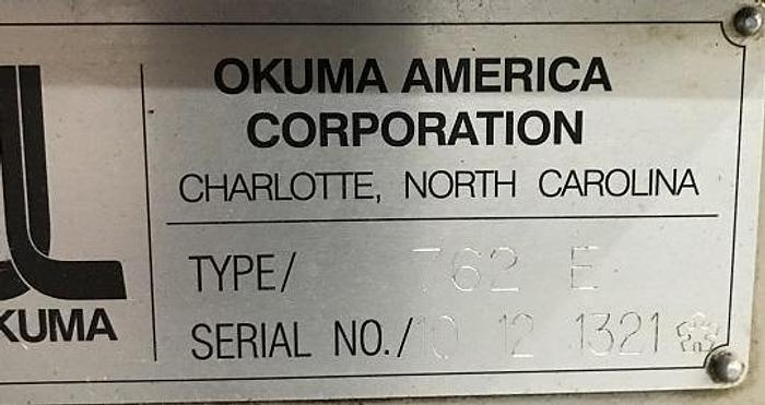 1999 Okuma  Crown L1060 - OSP-700L Control