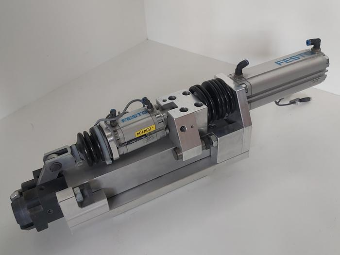 Gebraucht Zustellzylinder und Klemmung, Hub 125mm K3, Festo gebraucht-Top