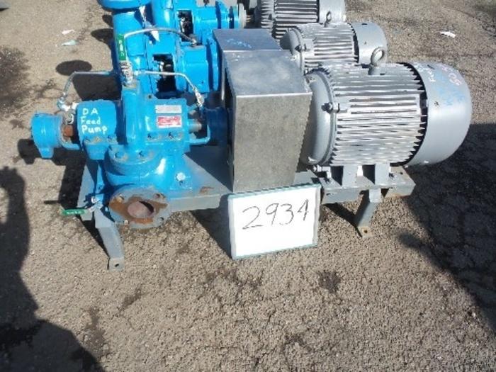 AC8100 3'' x 2'' Split Case Pump #2934