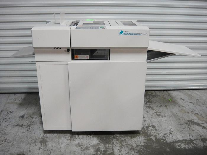 Used Duplo DC-545 DocuCutter