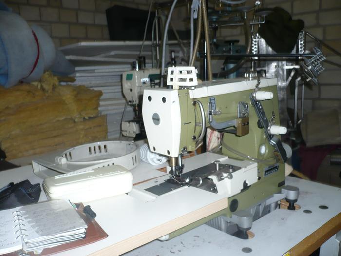 Gebraucht Doppelkettenstichmaschine RIMOLDI  KL 174-16-1MD 1 Nadel