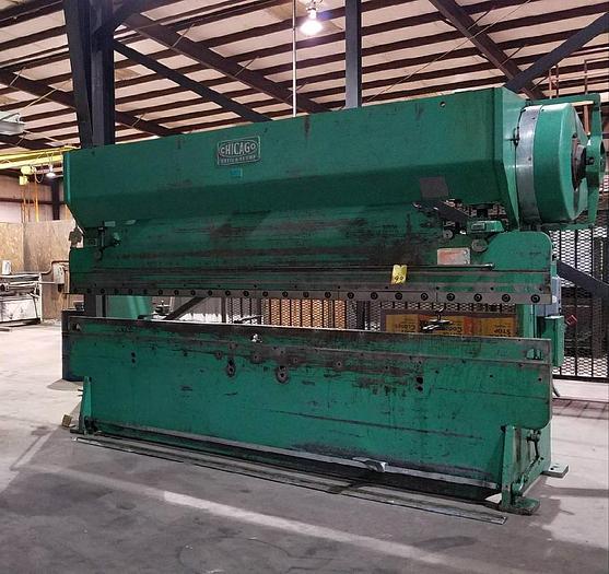 Used CHICAGO DREIS & KRUMP 12 FT Press Brake 90 Tom