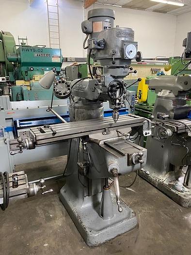"""Used Bridgeport Series 1 9"""" x 42"""" Variable Speed Milling Machine #5964"""