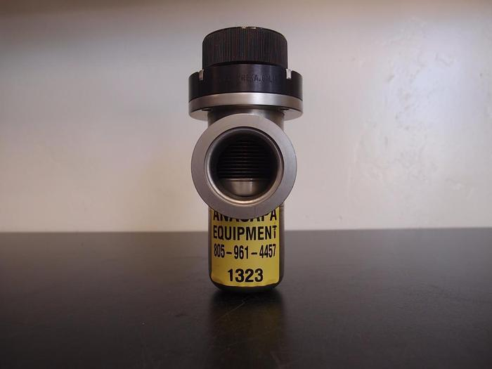 Used Nor-Cal ILVP 1502 NWB Pneumatic In-Line Poppet Valve NW-40 Flanges (1323)