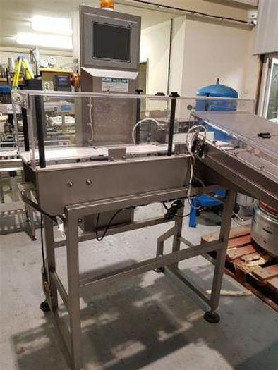 Used Cintex CS4000 Inline Check Weigher with Reject Unit