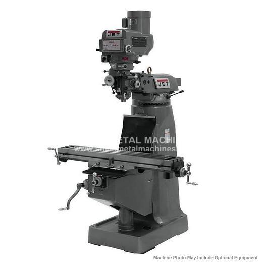 JET JTM-4VS-1 Variable Speed Vertical Milling Machine 230/460V 3Ph 690180