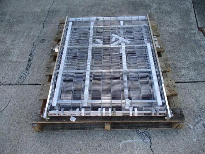 "Used Conveyor Section; Wire Belt; 30""Wx3'L"