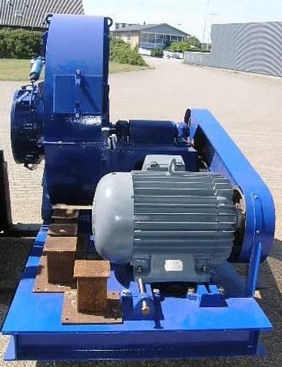 Refurbished POLLRICH suction ventilator with 75 kW motor