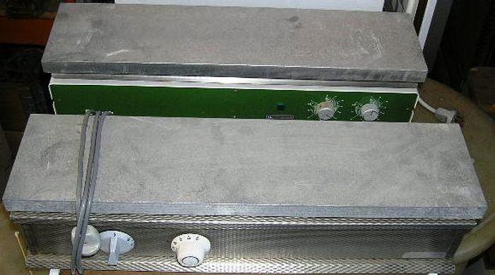 Used RETSCH heating plate, 1000 W, maxs. Temp, ca. 100 °C, 220 V