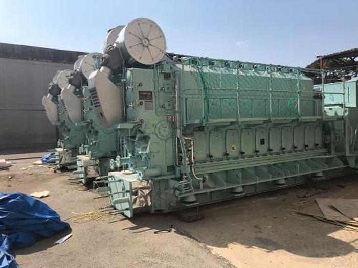 6.3 MW 2014 New Hyundai 9H25/33 HFO Generator Sets