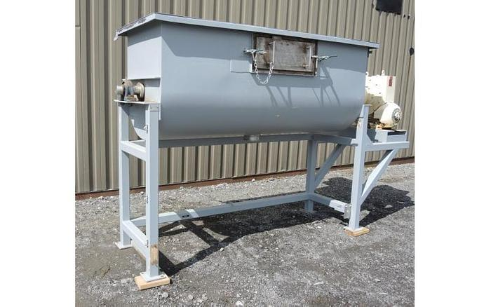 USED RIBBON BLENDER, 35 CUBIC FEET, DOUBLE RIBBON, STAINLESS STEEL