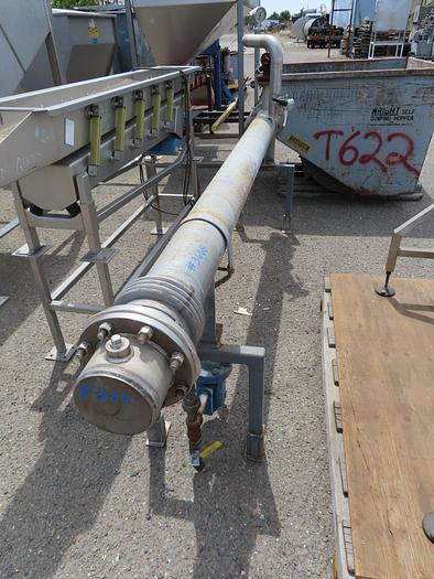 Stainless Steel Tube-In-Shell Heat Exchanger