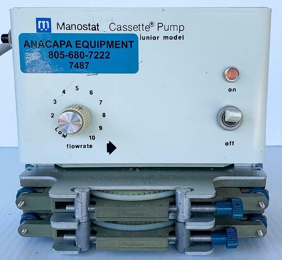 Used Manostat Cassette Pump Junior Model 72-510-000 USED (7487)W